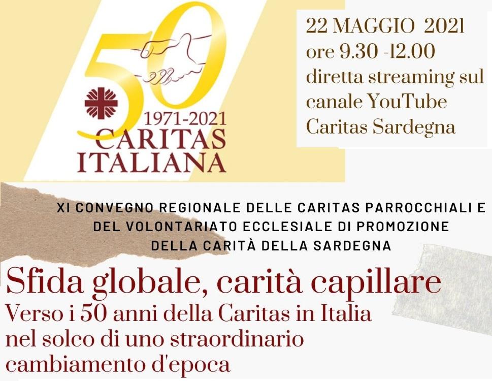 Il 50° di Caritas Italiana e la pandemia, nell'XI Convegno regionale Caritas